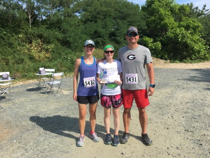 My sister Catherine and her husband Justin also ran the race!